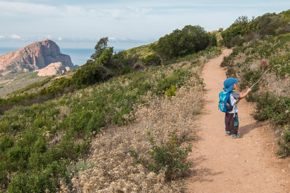 Wanderung zum Capu Rossu