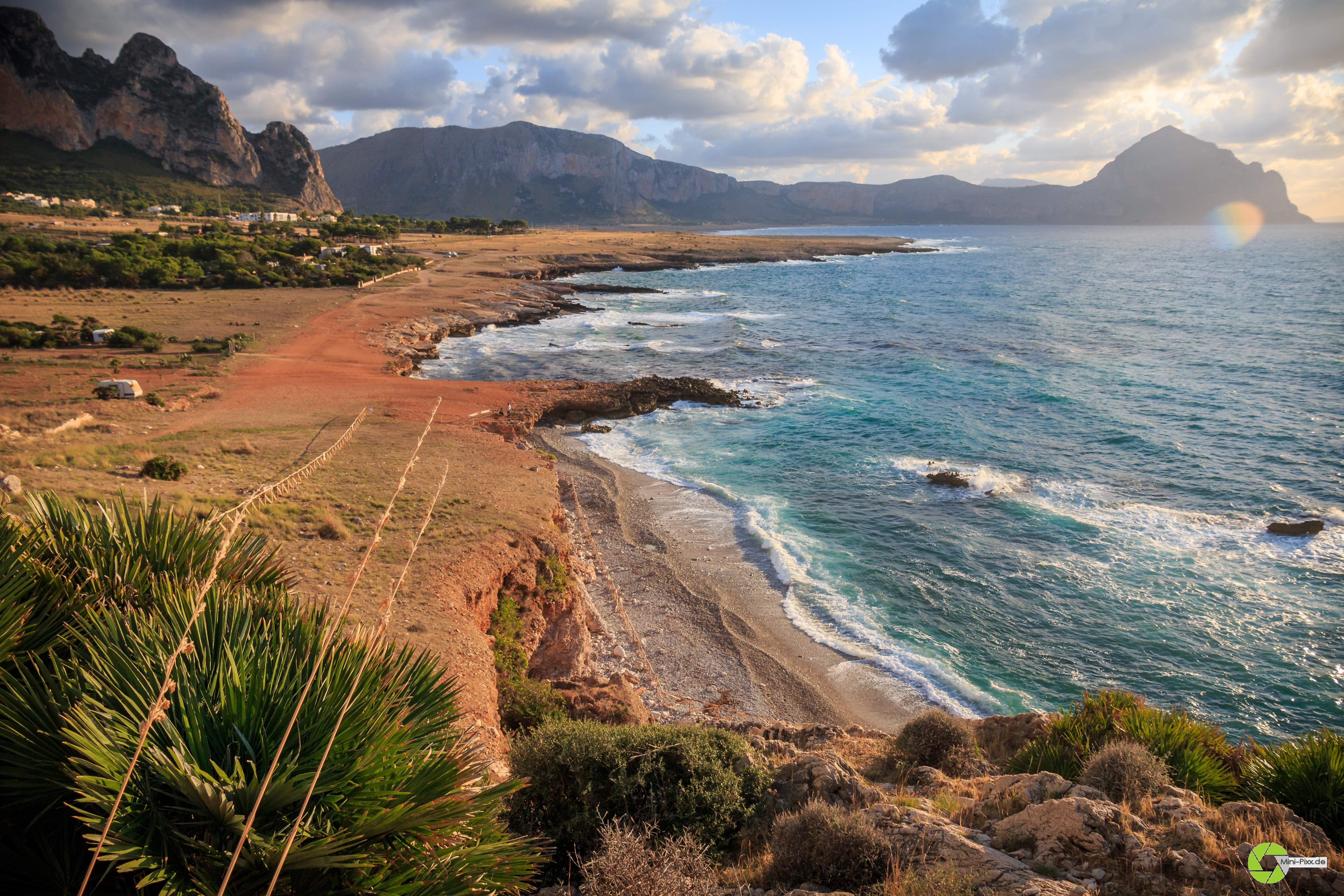 Blick in die Bucht bei El-Bahira